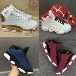 Wholesale High Quality Best Sneakers - [With Box]High Quality New Men Basketball Shoes 13 Sneakers Athletic Shoes Cheap Best Outdoors Sports Shoes