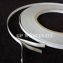 Wholesale Tape For Fabric - Wholesale- 2016 20 meters (5mm~19mm Wide Choose) Double Sided Adhesive Conductive Fabric Cloth Tape for Laptop Cellphone LCD EMI Shielding