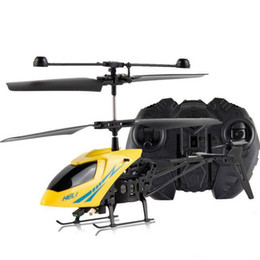 Wholesale Helicopter Radio Control - 2017 NEW Best seller drop ship RC 2.5CH Mini helicopter Radio Remote Control Aircraft ChannelDropped mini remote control aircraft