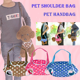Wholesale New Style Side Bags - New Style multifunction Outdoor Pet portable handbag dog carriers totes shoulder bag harness for dog cat wholesale fast shipping DHL
