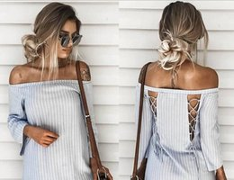 Wholesale Summer Long Chifon Dresses - 2017 casual dresses long dress women Off shoulder beach summer dress new year chifon white maxi dress vestidos de festa