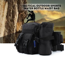 Wholesale Martial Arts Material - Tanluhu 328 Camouflage Waist Bag Outdoor Sports Detachable Water Bottle Belt Fanny Pack Nylon Material Hunting Camping Bag Camping Hiking +B