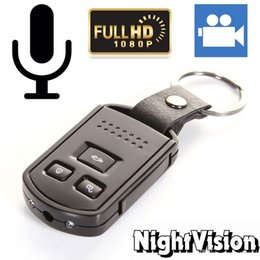 Wholesale Detection Metals - Full HD Car Key Mini Hidden SPY Camera DVR with Keychain Motion Detection Cam with IR Night Vision Video Recorder Camcorders Metal