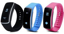 Wholesale V5 Touch Screen Phone - Factory Price OEM touch screen V5 smart bracelet,intelligent Fitness Healthy Tracker wristband For Android samsung