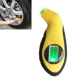 Wholesale Lcd Digital Gauges For Motorcycles - Hot Sale Digital LCD Car Tire Tyre Air Pressure Gauge Meter electronic Manometer Barometers Tester Tool For Auto Car Motorcycle
