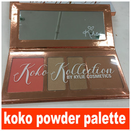 Wholesale Eyeshadow Blush Set - KOKO Kollection Kyshadow Palettes Blush Highlighter Palette Kylie Jenners 4 color Eyeshadow Glitter Eye Shadow Kit Makeup Eyes Palette Set