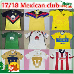 Wholesale 17 Mexico Culb LIGA MX Club America Chivas UANL Tigers Club Universidad Nacional shirt HACHITA Sports jersey UNAM