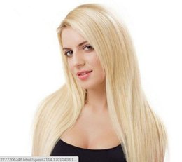 peru hair Coupons - Full Lace Wig Highest Quality Blonde Human Hair 100% Wig In Front Of The Golden Beads Female Around 613# Peru Hair Wigs Are Full Of My Shoes