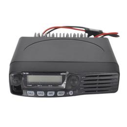 Coche walkie talkie online-TM-281A Radio móvil Vehículo Walkie Talkie Radio para coche VHF Radio bidireccional