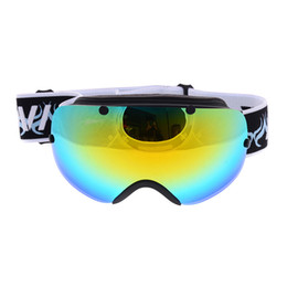 Wholesale Motocross Lens - Brand snowboard ski goggles double layers anti-fog lens ig vision mask motocross winter snow sports Windproof ski eyewear esqui