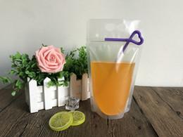 embalaje para baterías de teléfonos celulares Rebajas Verano bolsa de bebidas plásticas auto selladas bolsa de bebida de bricolaje bolsa de bebida bolsa de almacenamiento de alimentos de jugo de fruta