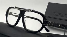 hochwertige gläser Rabatt Neue Retro Brillen CZ8018 Punk Stil Deutsch Designer Vintage Retro optische Gläser transparent Objektiv Top Qualität mit Originalverpackung