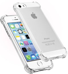 Wholesale Transparent Cell Phones For Sale - New design clear TPU led light calling flashing cell phone case cover for iphone 5 5S SE 6s 6 7 7S plus with 5 colors for sale DHL free