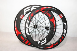 Wholesale Carbon Wheelset For Bike - Carbon Cyclocross Wheelset 700c 88mm Road Wheel Clincher Decals for Bicycles Matte 23 width Powerway R36 hubs