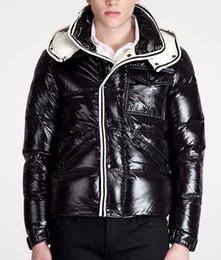 Wholesale Winter Hat Italy - Fashion Italy Down Coats Men jackets warm Mens Coat Brand Sport Jackets Winter Down Parkas Men's Overcoat Size M-3XL free shipping