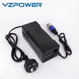 Wholesale Lithium Ion Battery For Tool - YZPOWER CE ROHS 63V 2A 1.5A 1A Smart Lithium Battery Charger For 55.5V Lipo Li-ion Electric Bike Power E-bike Tool