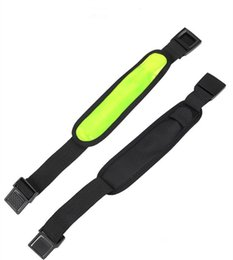 Wholesale Battery Signs - Flashing LED Lighting wrist camping led lamp party sport led safety sign armband with battery colorful party supplies