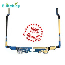 Wholesale Galaxy S4 Charging Port - Charging Port Flex Cable Ribbon for Samsung Galaxy S4 i9505 i9500 Repair Parts Replacement DHL Free Shipping
