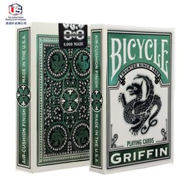 Wholesale Bicycle Deck Cards - Griffin Deck Bicycle Playing Cards Poker Size USPCC Limited Edition New Sealed Maigc Tricks