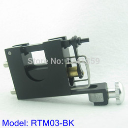 Wholesale Aluminium Castings - Wholesale- Free Shipping Cast Aluminium Rotary Motor Tattoo Machine Gun Supply RTM03-BK#