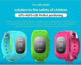Wholesale gps location finder tracker - Newest Smart Baby Watch Q50 Kid Safe GPS Watch Wristwatch SOS Call Location Finder Locator Tracker for Child Anti Lost Monitor