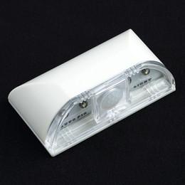 Trou de serrure automatique a mené la lumière en Ligne-Détecteur de mouvement infrarouge LED Détecteur de mouvement Accueil Porte Keyhole Light Lampe Auto Capteur PIR LED Lumière Livraison gratuite