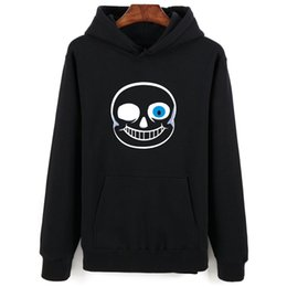 Wholesale Hot Fashion Games - Wholesale-Undertale Hot Game Men Women Sweatshirts Hoodies Best Quality Cotton Long Sleeve Fashion Shirts Size XXS-4XL