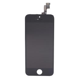 Tela do iphone 5s do oem on-line-Alta qualidade oem lcd pantalla para lcd iphone 5s lcd screen display substituição digitador assembléia livre dhl