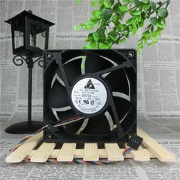 Wholesale 12v Fan Control - Wholesale- delta AFC1212DE 120*120*38 12cm 12V 1.6A 4 line PWM control air fan mill
