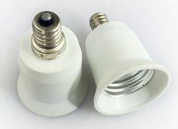 bombilla de luz e12 Rebajas E10 / E11 / E12 a E27 Portalámparas del convertidor de luz para bombilla de luz LED