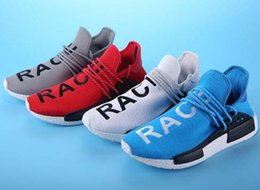 Wholesale Discount Leather Shoes For Women - Newest NMD Human Race for men and women NMD Sports Running Shoes,discount Cheap Athletic mens Outdoor Boost Training Sneaker Shoes kids 2017