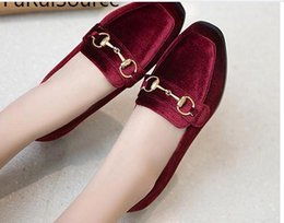 Wholesale Square Mouth Shoes - Spring square head low crude documentary shoes with shallow mouth for women's shoes FuRuiSource
