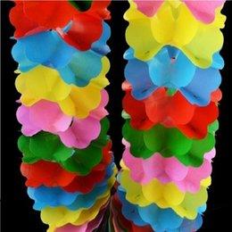 Wholesale Gimmick Tricks - 2Set Lot Circle Compression Flower Stage Magic Tricks Props Accessories Gimmick Flower Magic Trick Kid Child Puzzle Toy
