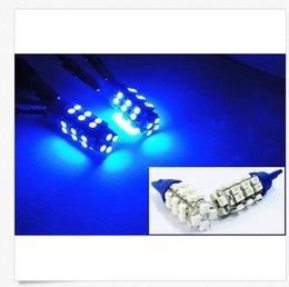 Wholesale Led Indicator Light Bulbs Wedge - 100PCS T10 28SMD 1206SMD W5W W5W Signal Indicator Lights Car Styling Side Wedge Light Lamp Bulb wholesale