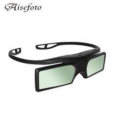 Wholesale Epson 3d Projectors - G15-BT Bluetooth 3D Shutter Active TV Glasses 3D Glasses For Epson Samsung SONY SHARP Bluetooth 3D TV Projector TV Free Shipping