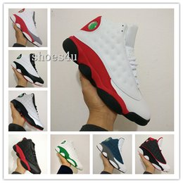Wholesale Satin Fabric For Sale - (With Box) Wholesale Cheap new mens Basketball Shoes Air Retro 13 Low Bred jumpman Shoes Running Shoes Mens Sports Shoe For Sale size 41-47