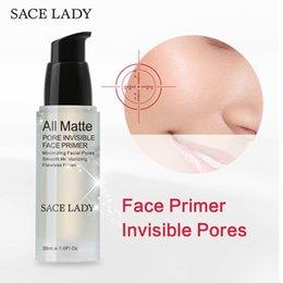 Wholesale Smooth Line - Minimizing Facial Pore Foundation Primer Mattifying Pore Minimizing Primer Smooth Fine Lines Oil-control Face Makeup Primer Gel 30ml