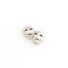 Wholesale Mask Pins - Wholesale- DRAMA MASKS, Floating locket charms,Fit floating charm lockets, FC0255