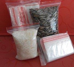 Serrure de cuisine en Ligne-100 pcs Sachets En Plastique Blanc Grip Autocollant Joint Rescellable Zip Lock Organisation De Stockage De Cuisine