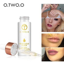 Wholesale Wholesale Primer For Make Up - O.TWO.O 24k Rose Gold Elixir Skin Make Up Oil For Face Essential Oil Before Primer Foundation Moisturizing Face Oil Anti-aging