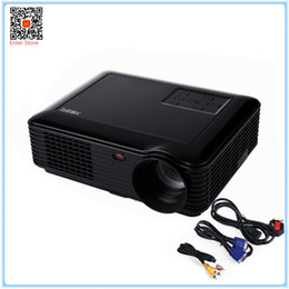 Wholesale Home Theater Led Lighting - Wholesale-POWERFUL LED Projector Light Cinema SV 228 home theater proyectors 4000 Lumens 1280*800 Cinema Projecteur video Projector