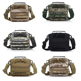 Wholesale Free Camping Equipment - Tactical Fly Fishing Camping Equipment Outdoor Sport Nylon Wading Chest Pack Cross body Sling Single Shoulder Bag 50pcs Free DHL