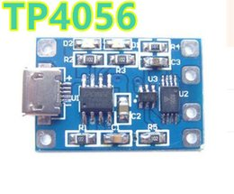 Wholesale 5v 1a Battery - TP4056 Micro USB 18650 Lithium Battery Charging Board Charger Module 5V 1A with Protection Dual Functions