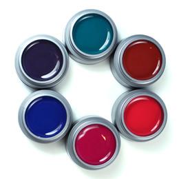 Wholesale perfect nails uv gel - Wholesale-Yaoshun 6pcs UV Color Nail Gel Polish Perfect Long Lasting UV Gel Varnish Professional DIY Nail Art Salon
