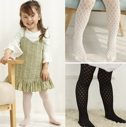 Wholesale Girls Nylon Leggings - New Arrival Spring Summer Kids Clothes Highr Quality Baby Girls 3 Colors Leggings Fishnet Stocking Kids Clothes Good Match Stocking Q0888