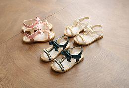 Wholesale Autumn Shoes Heels - Summer Walker sandals, boys beach shoes, 1-2-3-4 year old Korean children's sandals