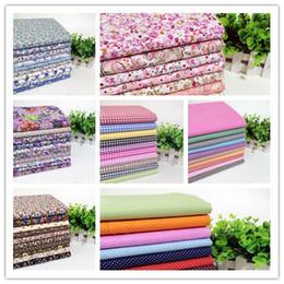Wholesale Tool Wholesale Patchwork - 70 pieces lot 50cmx50cm 100% Cotton Patchwork Fabric Bundle, Sewing Cloth for The Tilda Fabric Wholesale