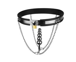 Wholesale Men Women Chastity Belts - Adjustable Mode T-shaped Stainless Steel New Style Female Chastity Belt Anal Plug Bondage Gear Sex Toys Games for Men and Women