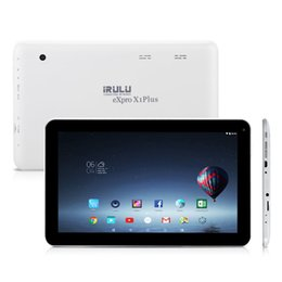 "Wholesale Dual Cameras Android Tablet - New Arrival! iRULU 10.1"" eXpro X1Plus Tablet PC Allwinner A33 Android 6.0 8GB 16GB+1GB Bluetooth 4.0 1024*600 Dual Cameras Tablets"