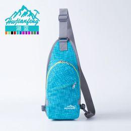 Argentina 2016 Hot Unisex Nylon Chest Back Pack Senderismo Al Aire Libre Deporte Crossbody Bolsa de Hombro Hombres Mujeres Paquete Diagonal Mochilas Suministro